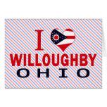 Amo a Willoughby, Ohio Felicitaciones