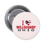 Amo a Willoughby, Ohio Pin
