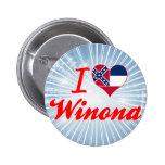 Amo a Winona, Mississippi Pins
