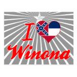 Amo a Winona, Mississippi Postal