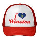 Amo a Winston, Oregon Gorras De Camionero