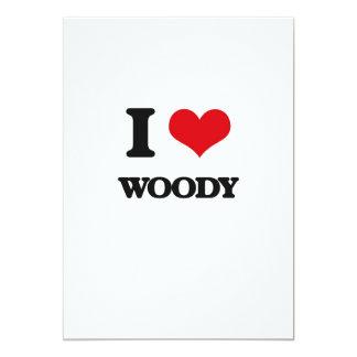 """Amo a Woody Invitación 5"""" X 7"""""""