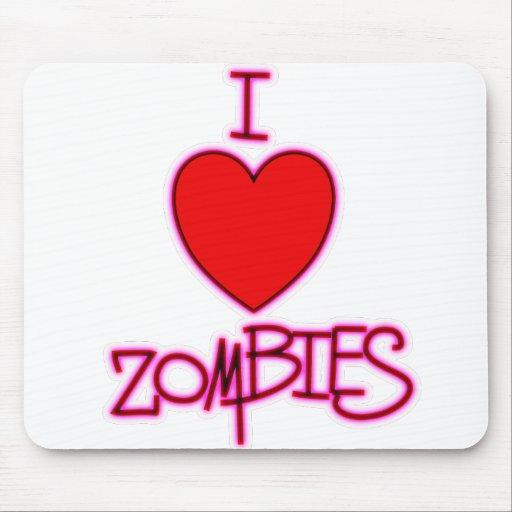 ¡Amo a zombis! Mousepad