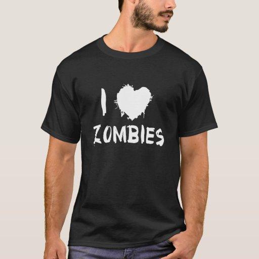 Amo a zombis playera