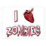 Amo a zombis postales