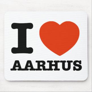Amo Aarhus Tapete De Ratón