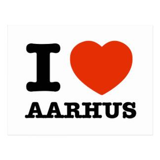 Amo Aarhus Tarjetas Postales