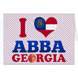 Amo Abba, Georgia Felicitación