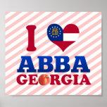 Amo Abba, Georgia Impresiones