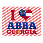 Amo Abba, Georgia Tarjeta Postal