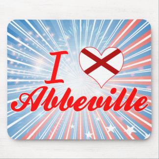 Amo Abbeville, Alabama Alfombrillas De Ratón