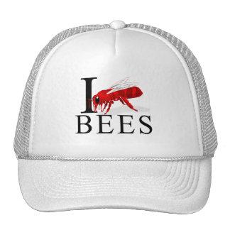 Amo abejas gorro