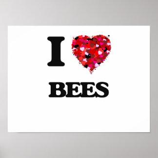 Amo abejas póster