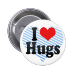 Amo abrazos pins