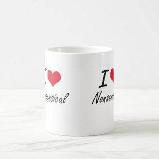 Amo absurdo taza clásica