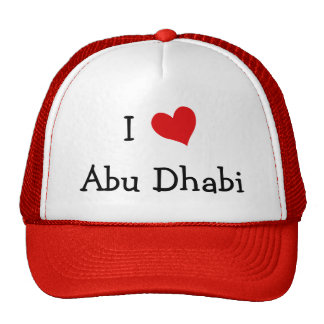 Amo Abu Dhabi Gorras De Camionero