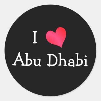 Amo Abu Dhabi Etiquetas