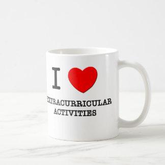 Amo actividades extracurriculares taza de café