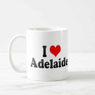 Amo Adelaide, Australia Taza