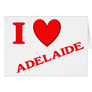 Amo Adelaide Tarjetas