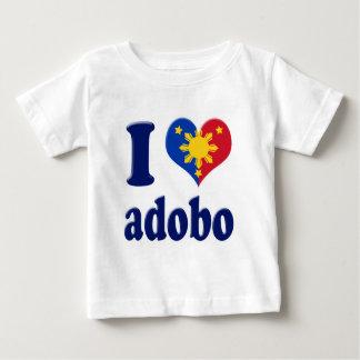 Amo Adobong Pinoy Playera De Bebé