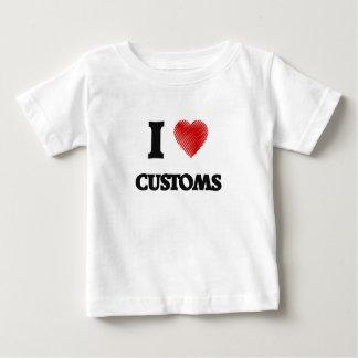 Amo aduanas camisas