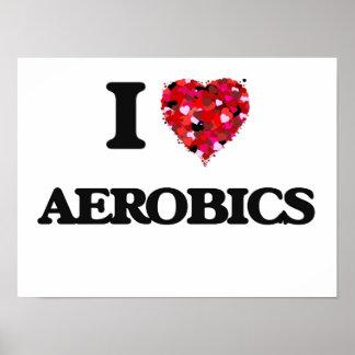 Amo aeróbicos póster