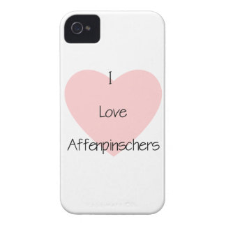 Amo Affenpinschers (2) Case-Mate iPhone 4 Cárcasas