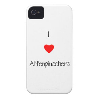 Amo Affenpinschers iPhone 4 Case-Mate Protector