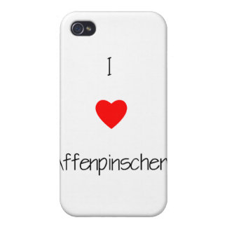 Amo Affenpinschers iPhone 4 Protector
