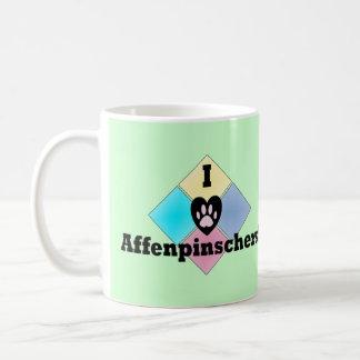 Amo Affenpinschers Taza De Café