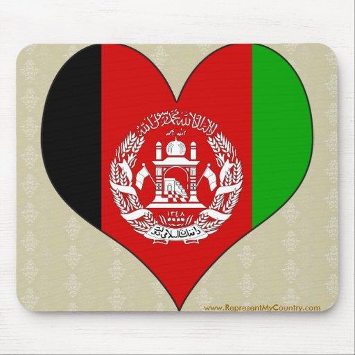 Amo Afganistán Tapete De Raton