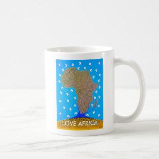 Amo África por Metin Taza De Café