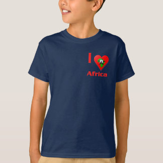 Amo África Remeras