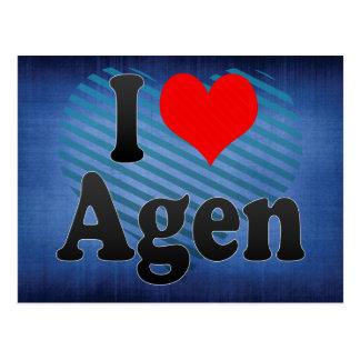 Amo Agen, Francia. J'Ai L'Amour Agen, Francia Postales