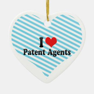 Amo agentes de patente ornamentos para reyes magos
