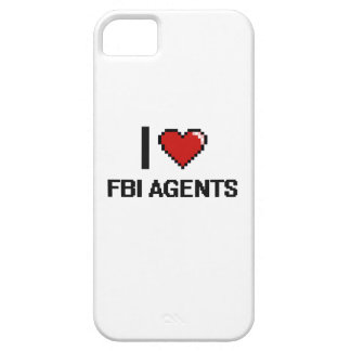 Amo agentes del FBI iPhone 5 Carcasas