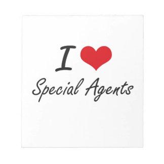 Amo agentes especiales blocs