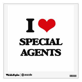 Amo agentes especiales