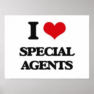 Amo agentes especiales poster