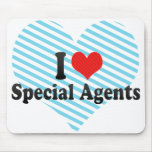 Amo agentes especiales tapetes de raton