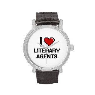 Amo agentes literarios relojes