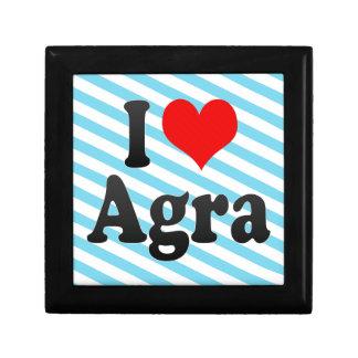 Amo Agra, la India. Mera Pyar Agra, la India Cajas De Regalo