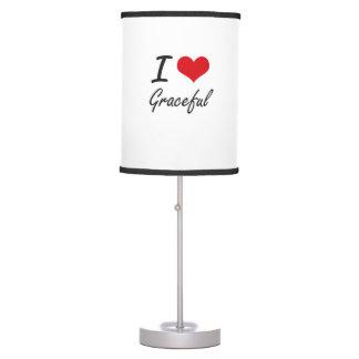 Amo agraciado lámpara de mesilla de noche