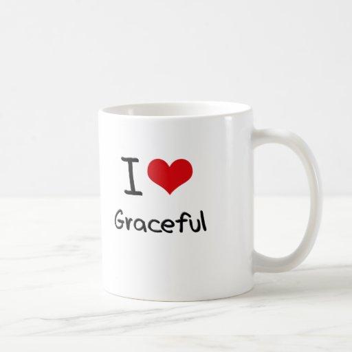 Amo agraciado taza de café