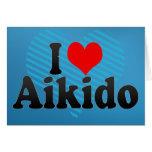 Amo Aikido Felicitación