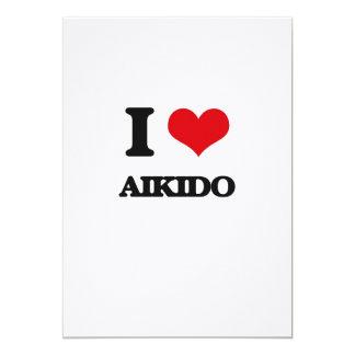 Amo Aikido Invitación 12,7 X 17,8 Cm