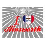 Amo Ainsworth, Iowa Tarjetas Postales