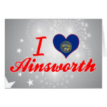 Amo Ainsworth, Nebraska Tarjeta