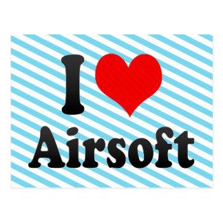 Amo Airsoft Postales